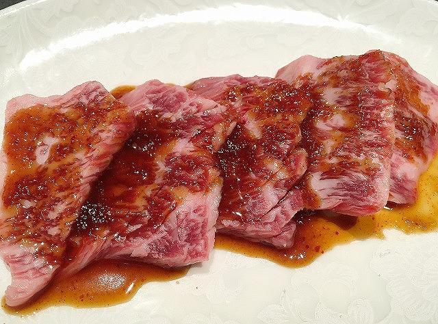 京都焼肉処焼肉「きはら」和牛カルビ
