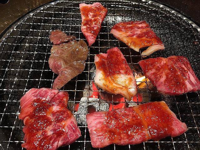 京都焼肉処焼肉「きはら」和牛カルビ・ロース