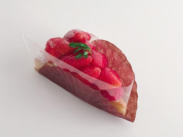 「洛甘舎」苺タルト