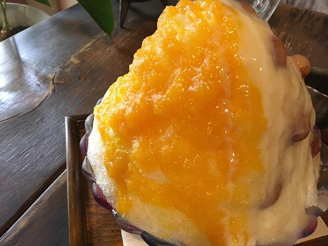 「火裏蓮花」橘香るけづり氷