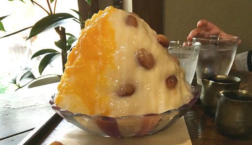 cafe 火裏蓮花(かりれんげ)|夏限定のかき氷が有名だけどそれよりコーヒーゼリーがもっと美味しい!【烏丸御池】