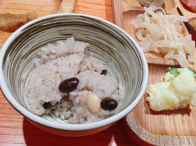 「モクモク京都店」豆穀米
