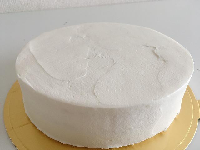 「SALAO」デコ前ケーキ
