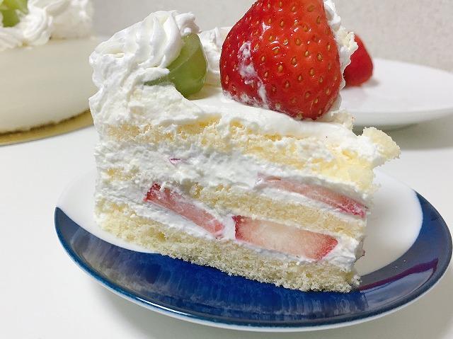 半手作りクリスマスケーキ