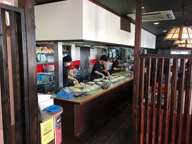 「田の久本店」店内