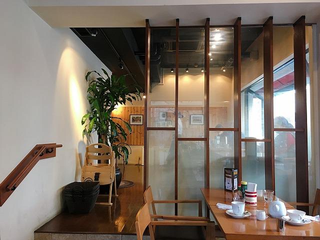 「小川珈琲 洛西店」喫煙席