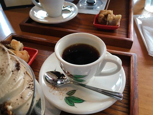 「小川珈琲 洛西店」デミタスコーヒー